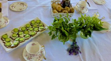 An English Graduation tea
