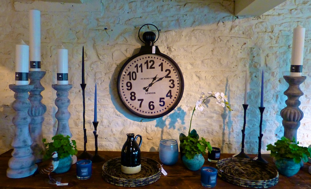 Inside Laystone Barn shop in the Cotswolds