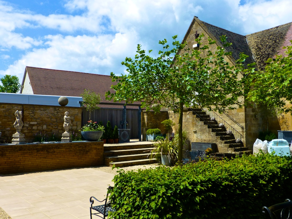 Laystone Barn shops in the Cotswolds. England