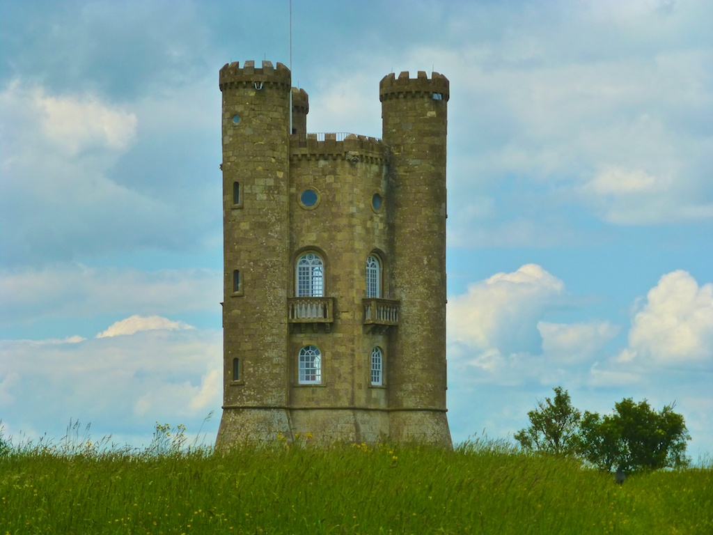 The Broadway Tower in the Cotswolds