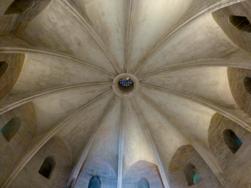 Ceiling of the Constance Tower, Aigues-Mortes, Camargue,France