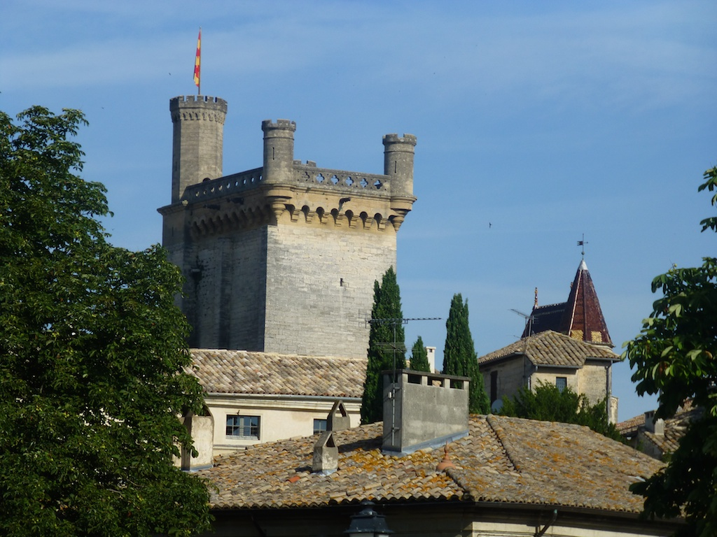 Chateau of Uzes, Languedoc Rousillon, France