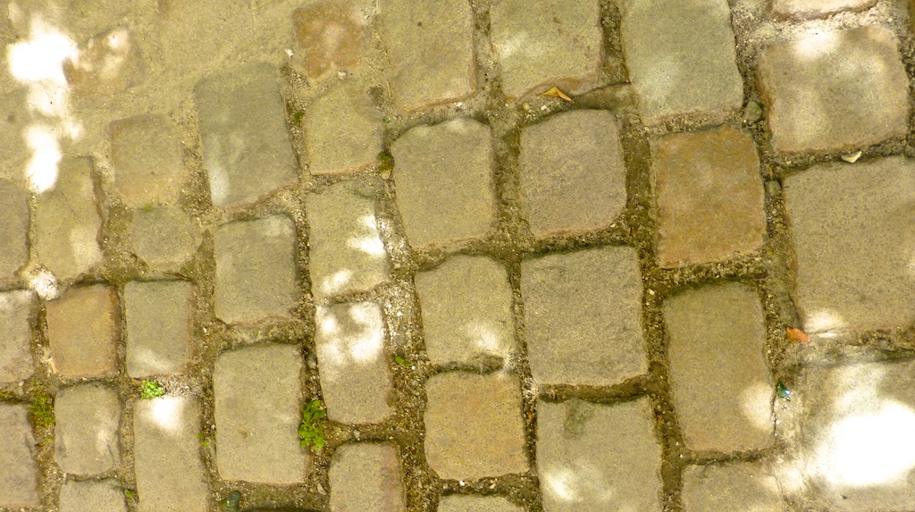 Cobbles of Uzes, Languedoc Rousillon, France