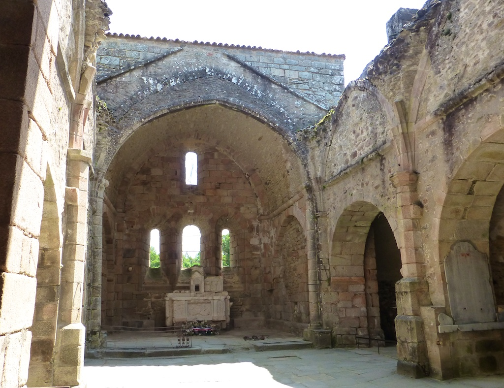 The church in Oradour-sur-glane were women and children were made to go