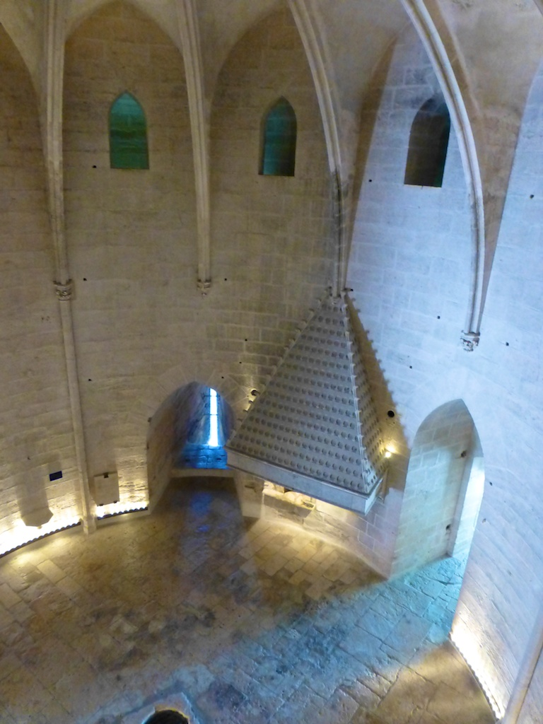 Inside the Constance tower, Aigues-Mortes, Camargue,France