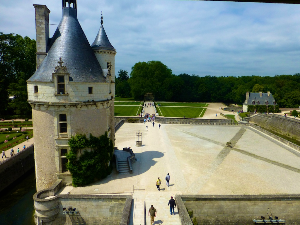 View of Chateau de Chenonceau , Loire Valley, France
