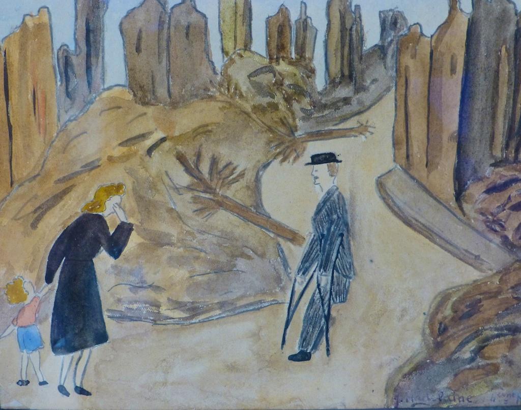 French children's art during World War II (1)