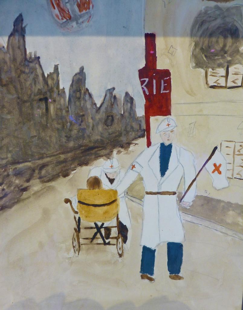 French children's art during World War II