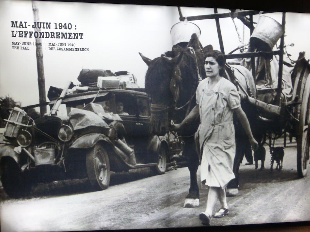 French evacuation, World War II