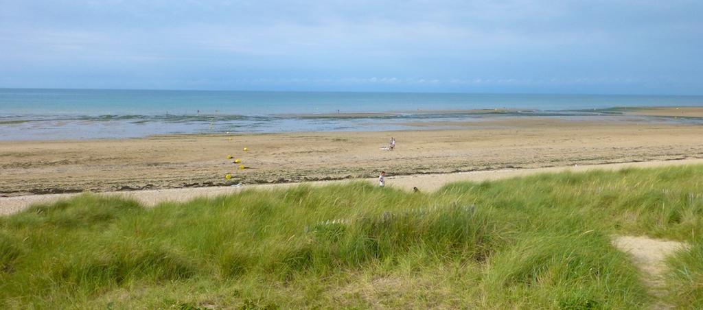 Juno Beach, site of British & Canadien Dday Invasion, June 6th 2014