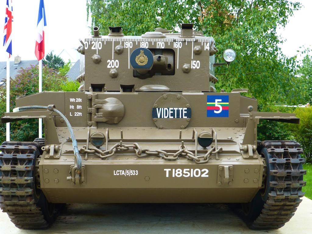 World War II Allied tank, DDay Invasion June 6th 1944