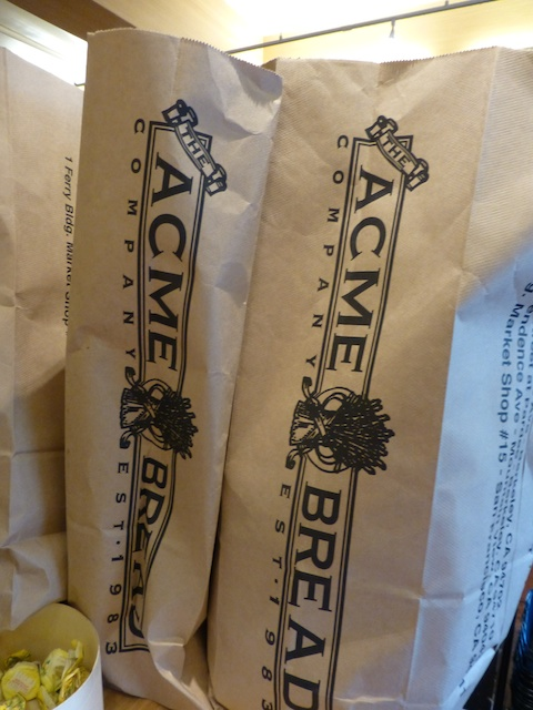 Acme Bread in Market Hall Rockridge near Berkley, California