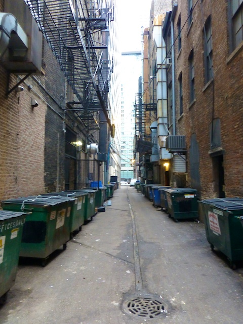 Chicago alley ways
