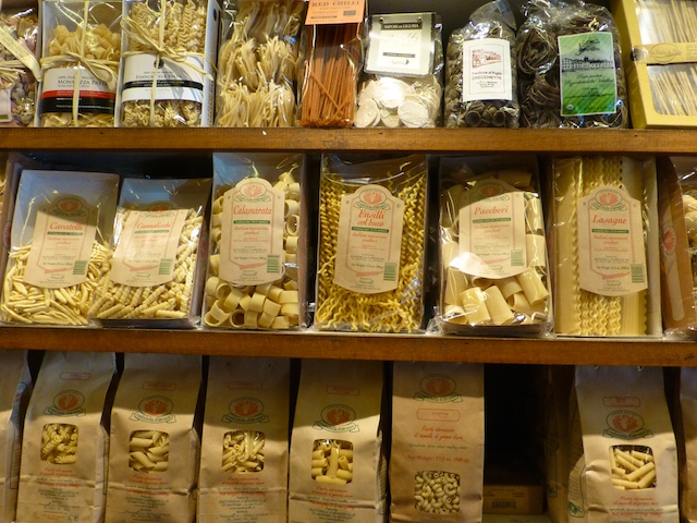 Pasta in Market Hall Rockridge near Berkley, California