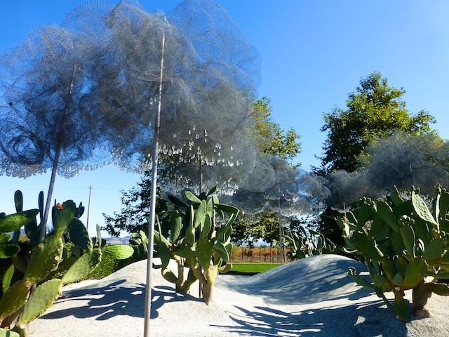 Trees of wire and jewels, Cornerstone, Sonoma