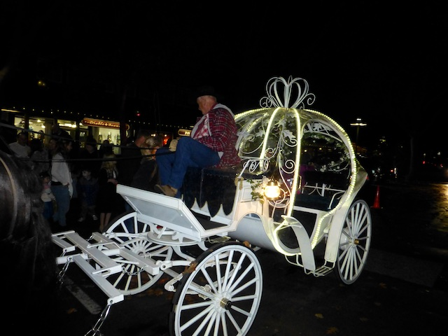 Fairy tale pumpkin carriage. Danville CA USA