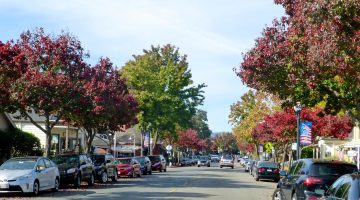 Hartz Avenue, Danville, California, USA
