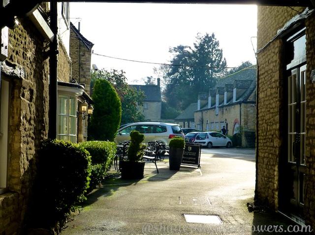 Entrance to Bear Hotel, Woodstock, England