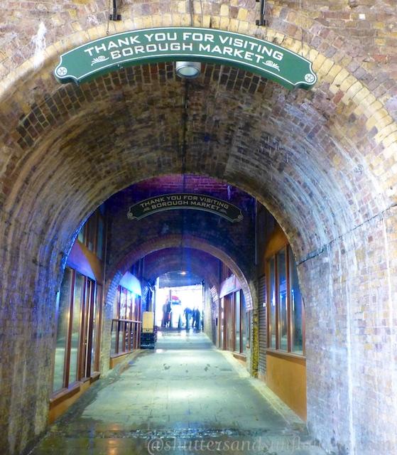 Exit to Borough Market, London