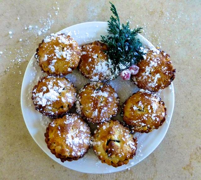 English Christmas mince pies