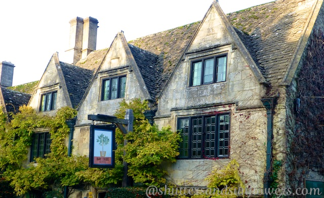 A hotel in Burford, in the Cotswolds, England