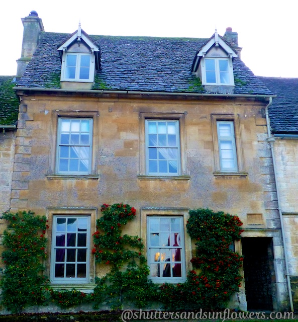 A house in Burford, in the Cotswolds, England