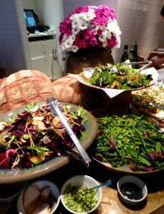 Salads at NOPI, Yotam Ottolenghi's London restaurant