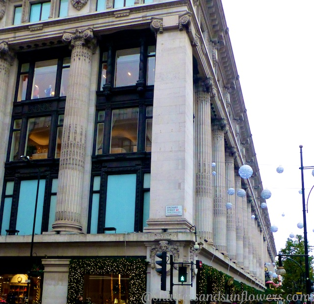 Selfridges Department Store, Oxford Street, London