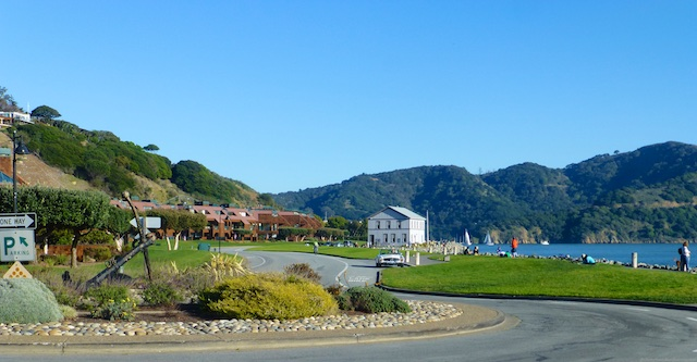 Picturesque Tiburon across the Bay
