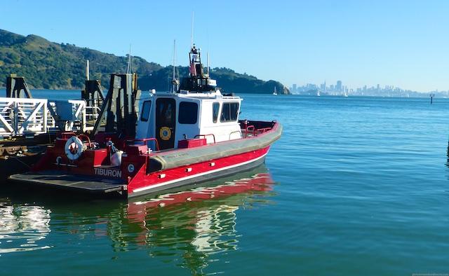 The Tiburon fire boat