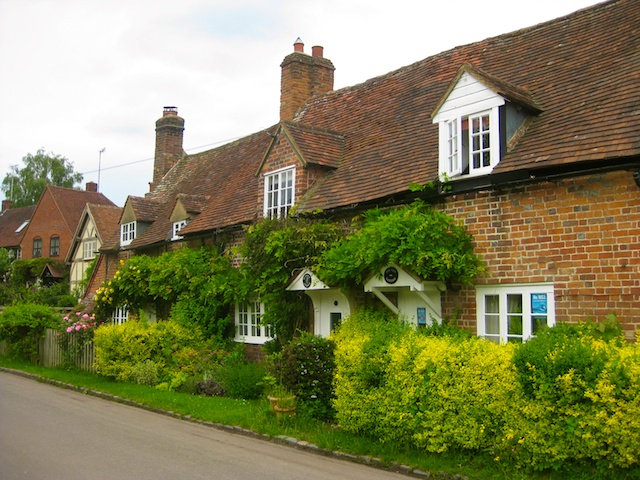 An English country cottage