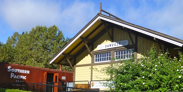 Danville, California in January