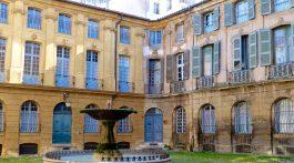 In Aix-en-Provence, Bouche de Rhone, Provence, France