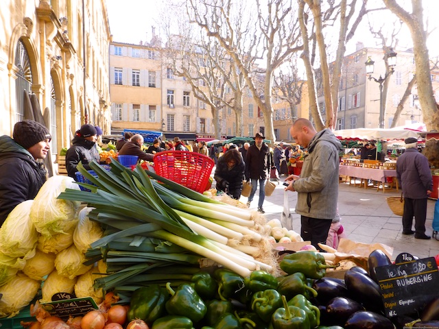 Market stalls for sale in Aix-en-Provence