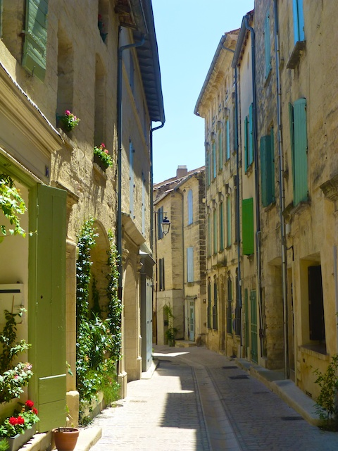 A medieval street, Provence, France