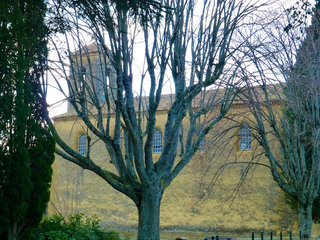 Lourmarin's church, Luberon, Provence