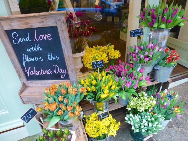 Stunning florist in Clifton, Bristol, England