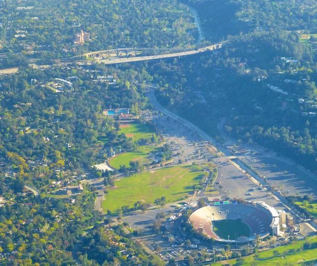 'The Rose Bowl' in Pasadena, Los Angeles County, California
