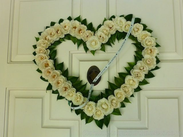Bridal shower, wedding wreath