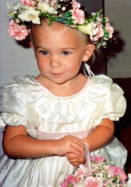 Kate Amy a bridesmaid