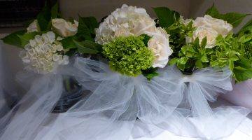 Wedding flower arrangements, San Francisco Wedding, California, USA