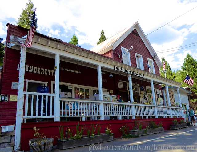 Sierra City, on route 49, 19th century country store.