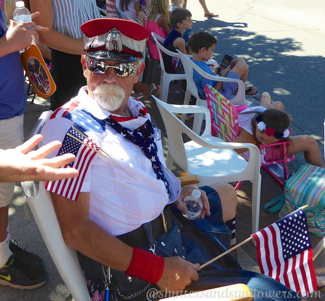 Proud to be an American at the Danville 4th of July Parade