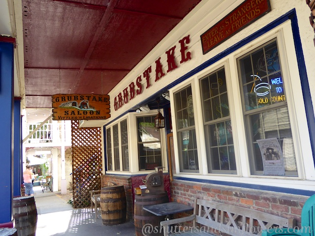 The Saloon in Downieville, a Californian gold rush town