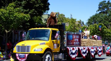 Danville's 4th of July Parade, Danville, California, USA