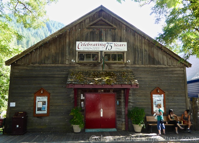 Theatre in Downieville, a Californian gold rush town