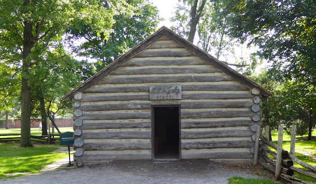 An early American school house from1836