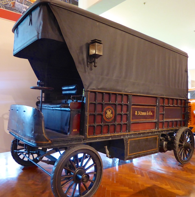 1900 Electric driven delivery van