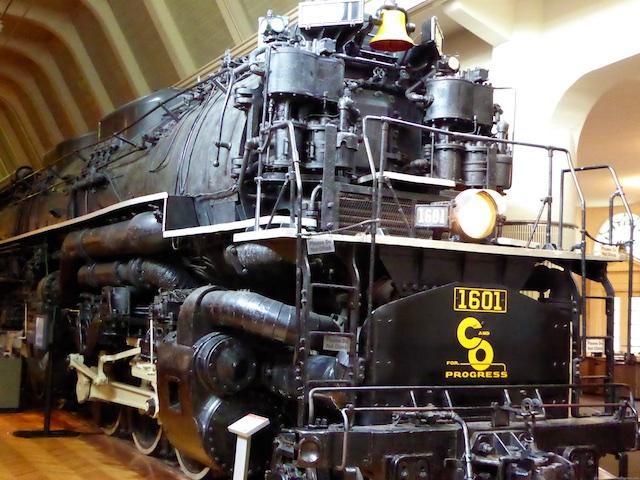 The 1941 Allegheny steam train
