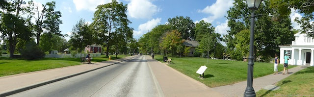 The streets of Greenfield Village